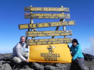 GT on Kili summit